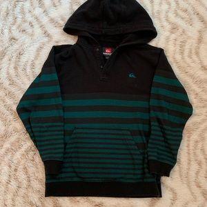 Quicksilver Boys Hoodie Sweatshirt Skater size 7